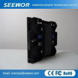 Atualização de alta P6.25mm fixo no interior da tela LED de cor total com preço competitivo
