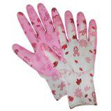 Garden Gloves de Madame Nitrile Dipped avec la bonne qualité