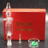 De zwarte Rode Witte Pijp van het Glas van het Stro van de SCHAR van de Honing van de Uitrusting van de Collector van de Nectar