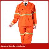 Fornecedor uniforme personalizado da segurança das mulheres dos homens da boa qualidade (W252)