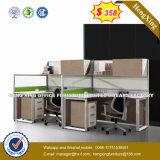 フォーシャンの工場木ワークステーションオフィス用家具の隔壁(HX-8N3010)