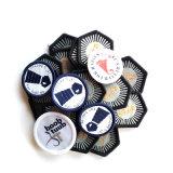 Fato feito sob encomenda etiquetas Sewing tecidas personalizadas