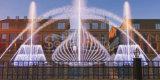 Высокое качество озера специальным фонтан