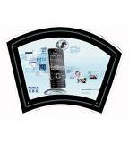 LED-Kristallbildschirmanzeige mit Zeichen-DigitalSignage der Inner-Form-LED