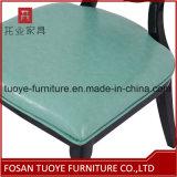 Cena de la silla con el asiento de alta densidad de cuero de la esponja