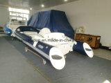 PVC gonfiabile tedesco della barca di Decking del crogiolo di PVC di Liya