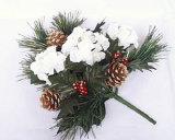 Fiori artificiali di Natale