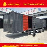 半三車軸貨物TrailerヴァンTruck Trailer