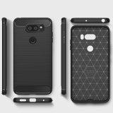Случай LG V30, LG V30 плюс случая телефона случая защитный чехол Полн-Тела мягкого TPU гибкий