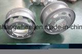 Высокое качество тяжелые колеса грузовика стальное колесо Колесо, бескамерные шиныбескамерные стальные колеса