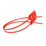 ポスト袋のシール、記号論理学の機密保護のシールは、堅いプラスチックシールを引っ張る