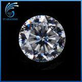 quilate 1.0 de 6.5m m alrededor de 9 corazones y de las piedras preciosas excelentes de 1 de la flor Moissanite del corte