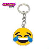 선전용 도매 금속 Emoji는 주문 Keychain #15775를 매혹한다