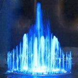 Precio de la promoción LED Light Music Spouting fuente del jardín de primavera