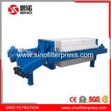 Type hydraulique bon filtre-presse de la chambre 1250 de pente