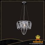 Restaurant Glass Steel Decorative Chandelier Light (KAMD4171-400T)