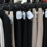 8.2MHz RF sistema EAS Gran Plaza de la etiqueta de disco duro de fuerza magnética de alta ABS anti robo hebilla para tiendas de ropa Tiendas de zapatos de cordón, la toalla etiqueta EAS