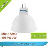 2018 SMD GU10 5W LED 스포트라이트