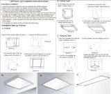 45W 5000K 1195x295mm Panel LED regulable Luz para Lifud conductor