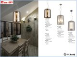 煙のガラス現代新式のシャンデリアのペンダント灯