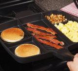 5 in 1 vaschetta di frittura antiaderante del Cookware innovatore magico della vaschetta