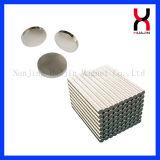 Produits magnétiques de NdFeB avec la forme ronde enduite de zinc/nickel