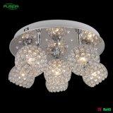 Nueva lámpara de techo de cristal con LED (C-9460/6A)