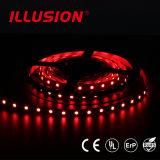 Farbe, die 14.4W/M RGB flexible LED Streifen-Beleuchtung ändert