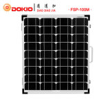 100W monocristallin Panneau solaire pliable avec sac de transport