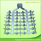 Präzisions-maschinell bearbeitende nach Maß Aluminiumlegierung-Gussteil-Teile