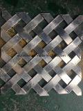장식적인 확장된 금속 메시 벽면