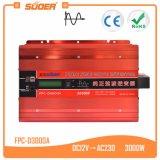 Suoer 12V 220V 3000 Вт Чистая синусоида инвертор (FPC-D3000A)