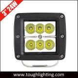 Cubo de 3 pulgadas 24W CREE Offroad carretilla luces LED de trabajo