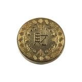 Venda por grosso de duas faces de ouro do logotipo barato Antique moedas em 3D