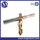주문을 받아서 만들어진 절단 도구 단단한 탄화물 공구 냉각기 강선전도 교련 (DR-200026)
