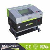 Gravure au laser de haute précision des machines de coupe de bois pour la fabrication de vêtements (EKS-6040)