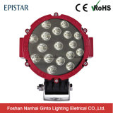 7inch 51W (17PCS*3W) Epistar 둥근 트럭 LED 일 빛 (GT1015-51W)