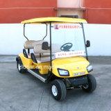 Billig 4 Personen-elektrisches Golf-Auto für Verkauf