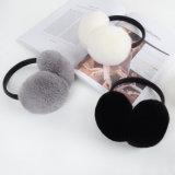 Manicotti reali caldi dell'orecchio della pelliccia del coniglio di Rex di inverno per le donne