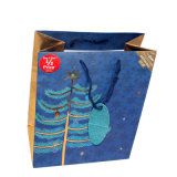 Sacco di carta dei sacchetti del reticolo di festival dell'imballaggio del regalo su ordinazione promozionale di arte
