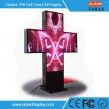 病院LEDの印のための3D P20 RGBフルカラーLEDの十字スクリーン