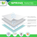 Factory Favorable Price Cotton Waterproof 100% Bed Bug Proof Baby Crib Mattress Encasement with TPU clouded