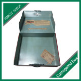 Carton d'expédition ondulé de couleur de papier avec verni