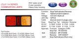 indicatore luminoso della coda di 12V 24V LED per l'arresto di Tailer del camion/coda/indicatore/l'indicatore luminoso d'inversione