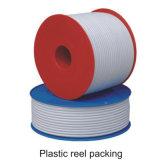 Precio más barato de fábrica un cable coaxial RG6 con revestimiento de PVC impermeable al aire libre y lleno de jalea