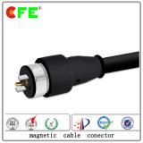 Tipo redondo conetor da C.C. de cabo magnético