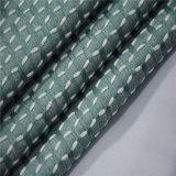 Cor verde brilhante tecido Cortina têxteis para o Hotel