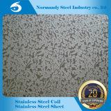 409 El Color de espejo pulido grabado Placa de acero inoxidable para ascensor