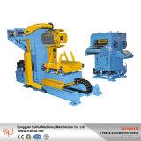 3 en 1 enderezadora y alimentador de Uncoiler para la cadena de producción de perforación (MAC2-400)