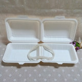 Коробка обеда Bento Eco-Friendly Biodegradable Takeout Tableware устранимая